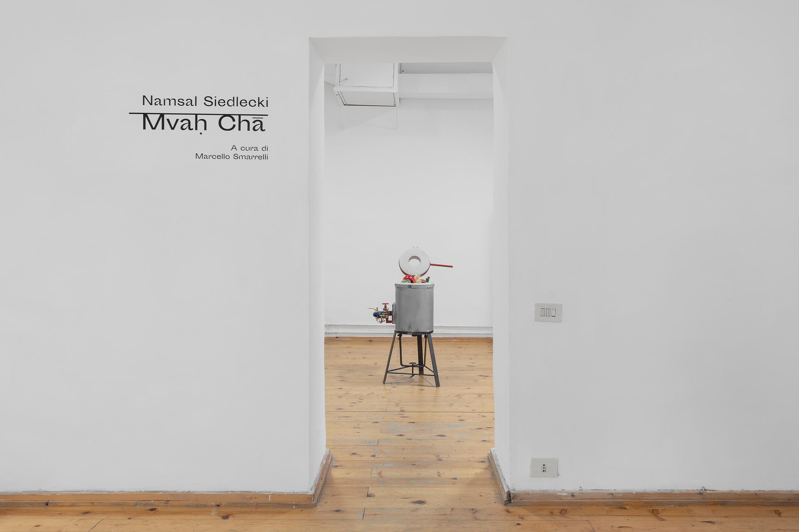 Namsal Siedlecki, Mvaḥ Chā, 2020. View of the exhibition curated by Marcello Smarrelli, Courtesy Fondazione Pastificio Cerere and the artist. Photo Andrea Veneri_5