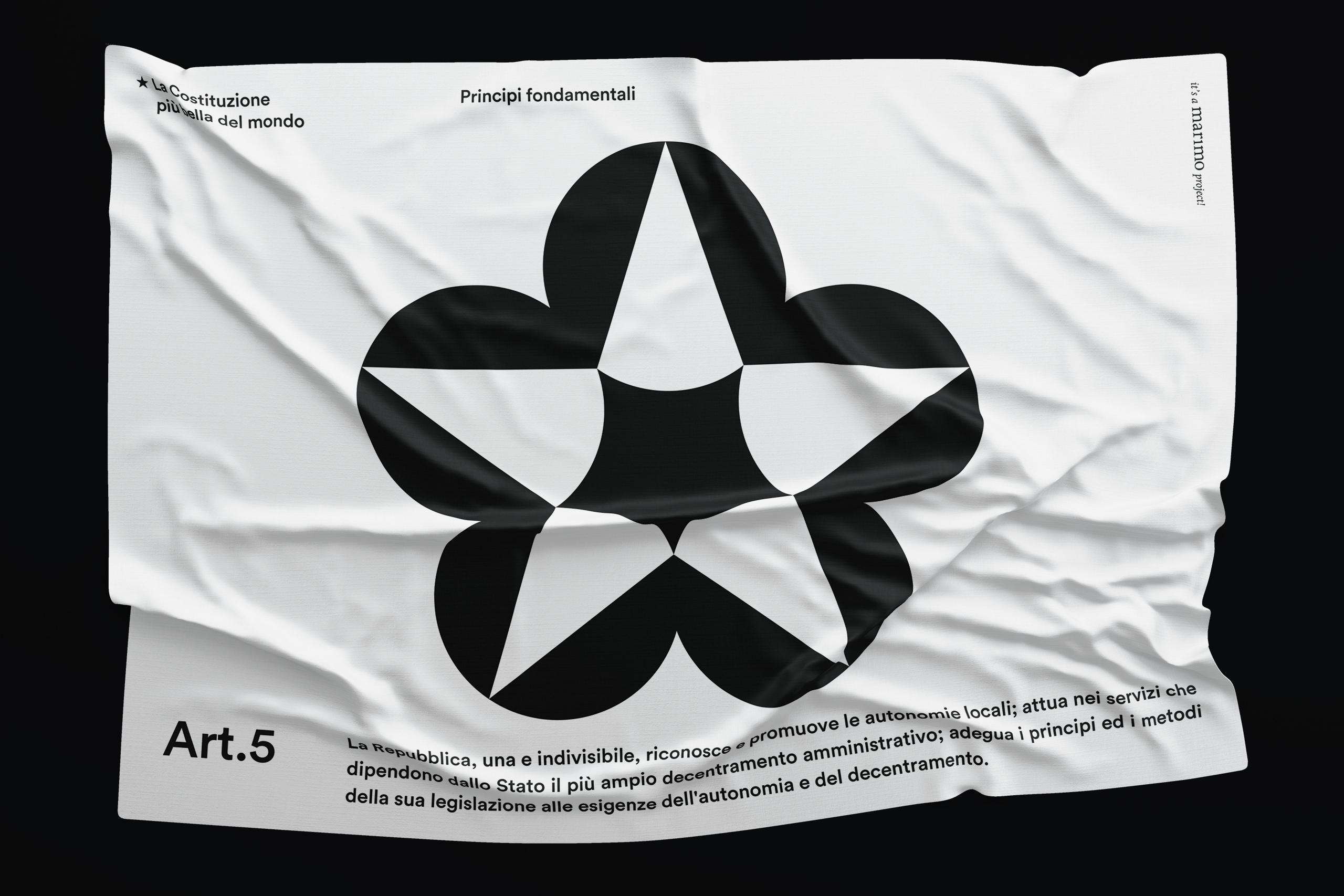 GiampieroQuaini_lacostituzionepiubelladelmondo_flag
